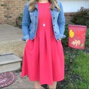 NWT LulaRoe AMELIA Dress in Pink